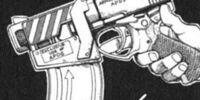 Desty Nova's machine pistol