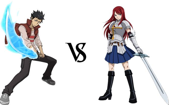 Yamamoto vs. Erza