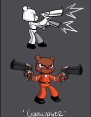 Gun Slinger's concept art