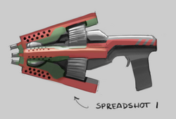 Spreadshot concept