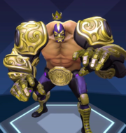 El Dragon campeon skin