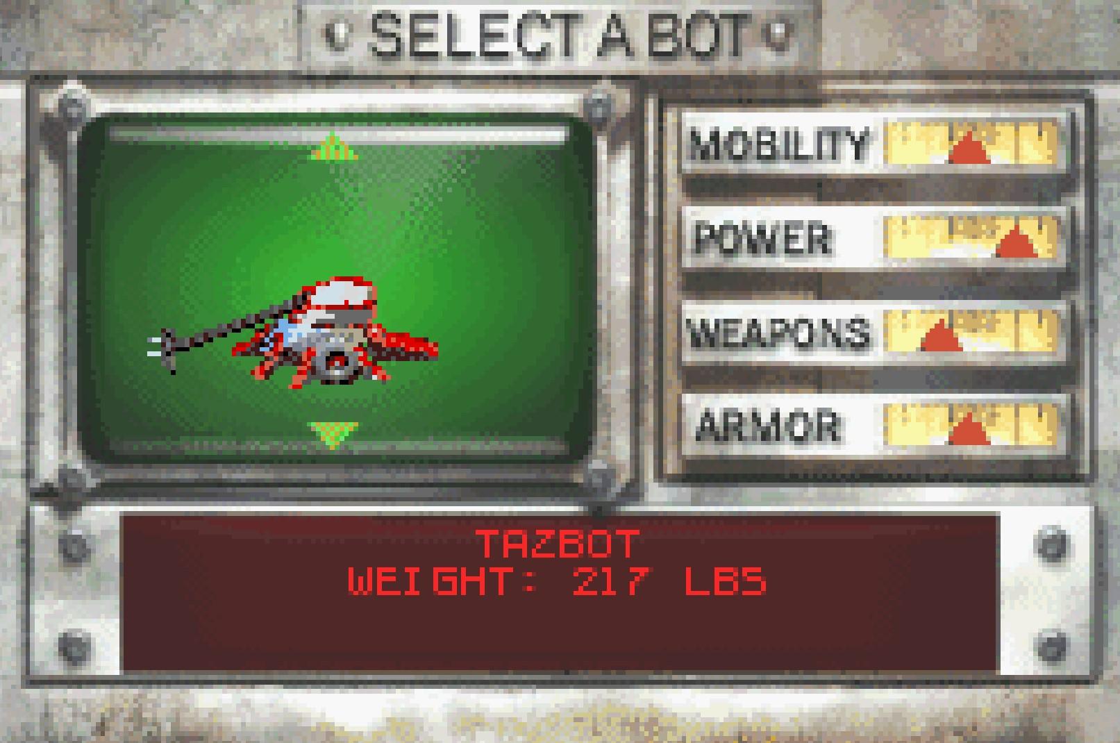 Tazbot GBA