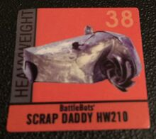 Scrap Daddy Sticker