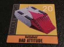 Bad Attitude sticker