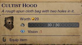 Cultist Hood