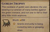 Goblin-trophy