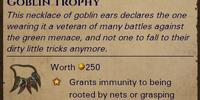 Goblin Trophy