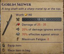Goblin Skewer