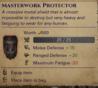 Orc Warrior's Protector