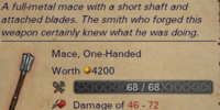 Unique Mace