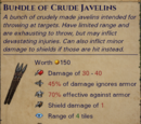 Bundle of Crude Javelin