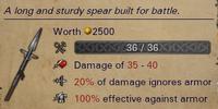Fighting Spear