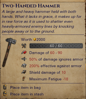 Two-Handed Hammer