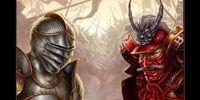 100 Knights vs. 100 Samurai (minecraft version)