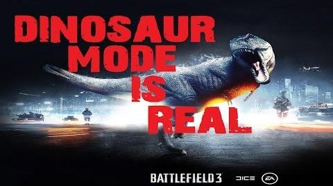 Battlefield 4- Dinosaur Mode Evidence Why I know Its Real