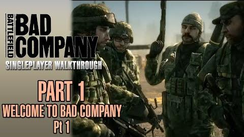 Battlefield Bad Company Walkthrough - Part 1 - Welcome To Bad Company - Pt