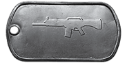 BF4 USAS-12 Master Dog Tag