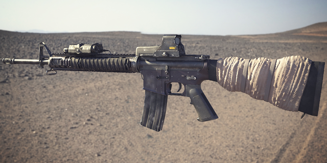 File:BF3 M16A4 3D Model.png