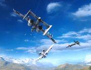 Mid Air JDAM