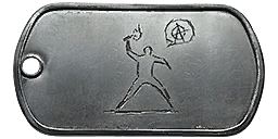 File:One Man Riot Dog Tag.png