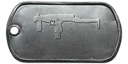 BF4 SR-2 Master Dog Tag