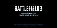 Battlefield 3: Operation Métro Multiplayer Trailer
