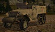 RA.M3 Half-track.Front.BF1942