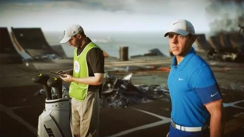 Rory McIlroy PGA Tour - Battledfield 4 Course 'Paracel Storm' Fantasy Course Gameplay