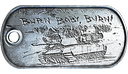 Tank Destroyer Dog Tag