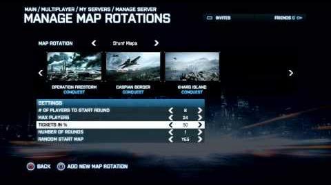 Battlefield 3 Console Custom Servers Features Trailer