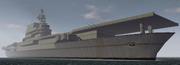 BF1942 USS ENTERPRISE YORTOWN CLASS AIRCRAFT CARRIER