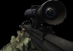 BFBC2 Type 88 Sniper Static