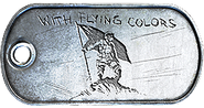 Capture the Flag Medal Dog Tag