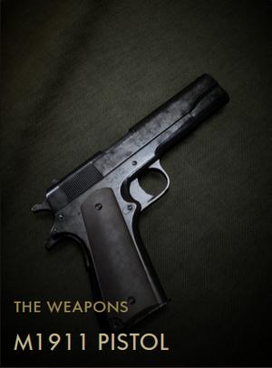 M1911 Pistol Codex Entry