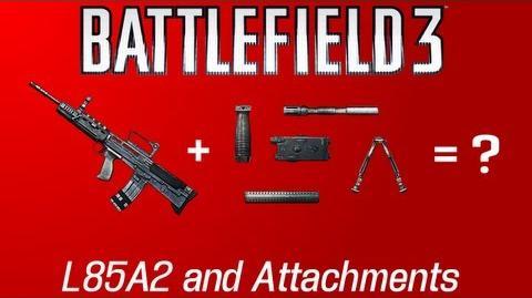 Battlefield 3 L85A2
