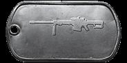 BF4 M82A3 Master Dog Tag