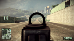BFBC2 Type 88 Red Dot Sight