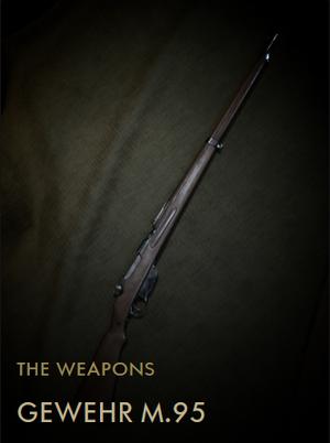 Gewehr M95 Codex Entry