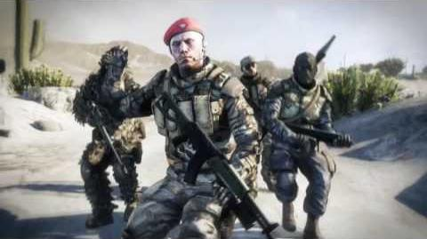 Battlefield Bad Company 2 Squad Stories 2 Trailer