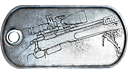 The M40A5 Mastery Dog Tag