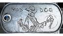 Gun Master Medal Dog Tag