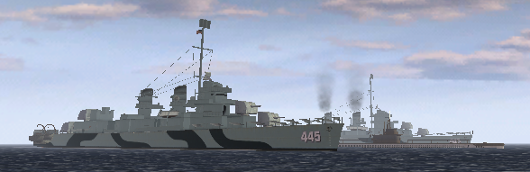 File:BF1942 USN FLEET GUADALCANAL GATO SUBMARINE FLETCHER CLASS DESTROYER.png