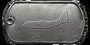 BF4 AC-130U Master Dog Tag