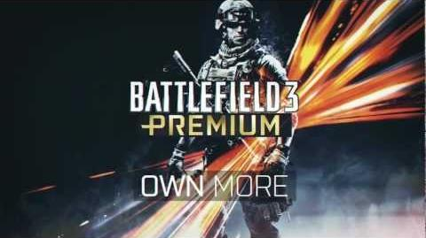 Battlefield 3 Premium Launch Trailer
