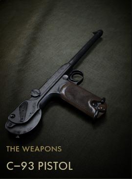 C-93 Pistol Codex Entry