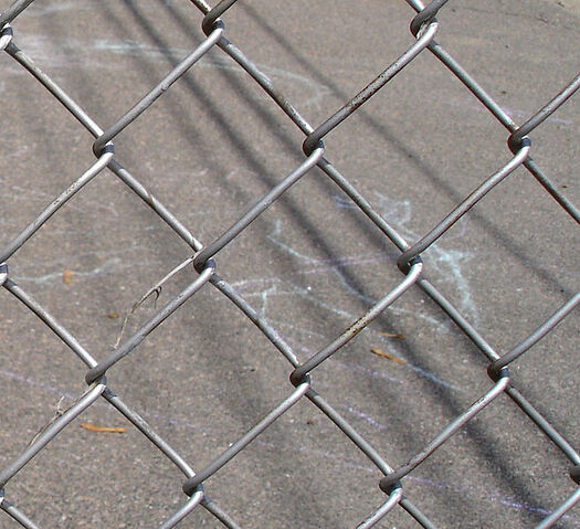 File:Chain Link Fence IRL.jpg