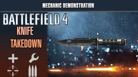Battlefield 4 Mechanic Demonstration - All Knife Takedown Animations