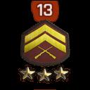 Rank 13