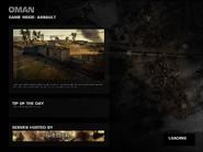 Battlefield P4F Oman Loading Screen