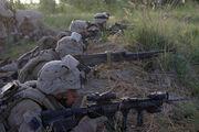 US Marines in Garmsir Afghanistan